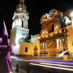 Quito Downtown View Ecuador