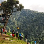 The swing in the end of the world - Ecuador