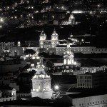 Quito At night Panoramic View