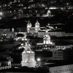 Quito At night Panoramic View