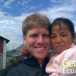 Volunteer Kid Ecuadorian Community