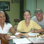 Volunteers on Meeting Ecuador