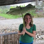 Volunteer Relaxing Ecuador