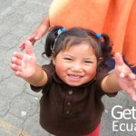 Ecuadorian Kid Asking for a Hug