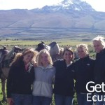 Teachers Volunteering Program Cotopaxi Vulcano Ecuador