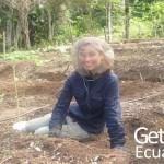 Conservation Program Volunteer Smiling