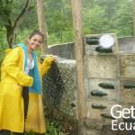 Happy Volunteer Smiling Ecuador