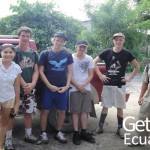 Group of Volunteers Traveling Ecuador